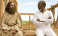 with morgan freeman in evan almighty