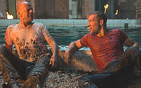 with Willis in Die hard 5
