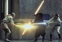 qui-gon and obi-wan vs maul